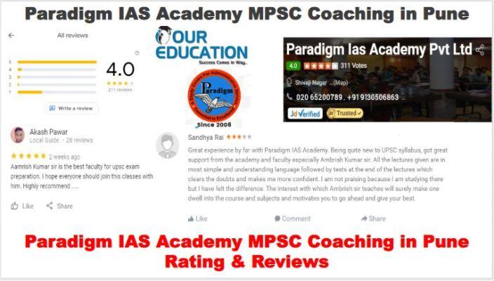 Paradigm IAS Academy MPSC Coaching Pune