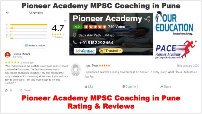 Pioneer Academy MPSC Coaching Center Pune