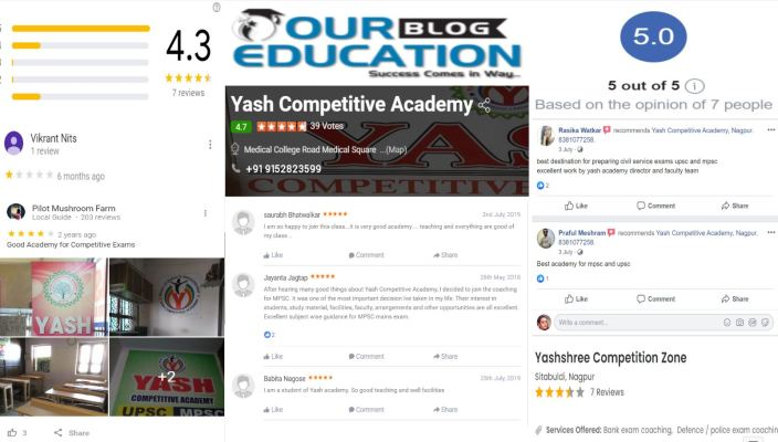 Yash Competitive Academy MPSC Coaching In Nagpur Review