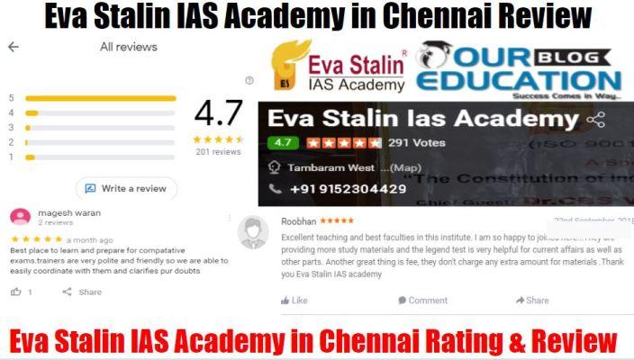 Eva Stalin IAS Academy Chennai