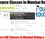 Manoeuvre CAT Classes In Mumbai Review