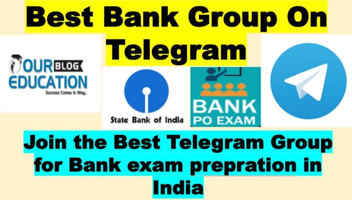 Best Telegram Group for Bank preparation in India