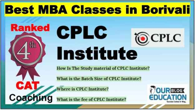 Best MBA Classes in Borivali