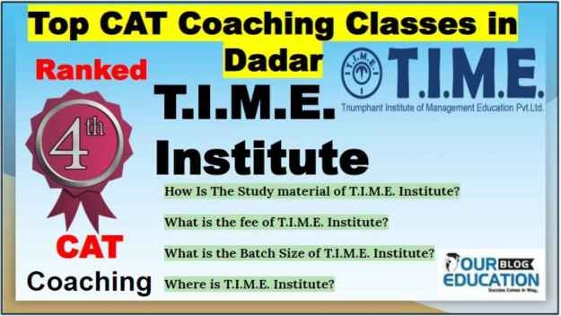 Top CAT Coaching Classes in Dadar