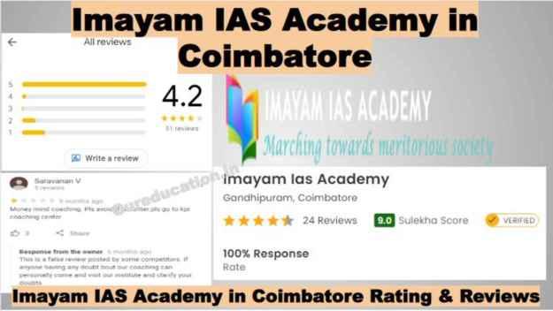 Imayam IAS Academy in Coimbatore Reviews
