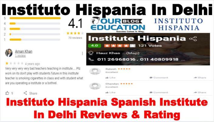 Instituto Hispania Spanish Institute in Delhi Review