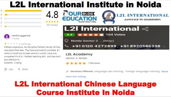 L2L International Chinese Language Course Institute In Noida Reviews