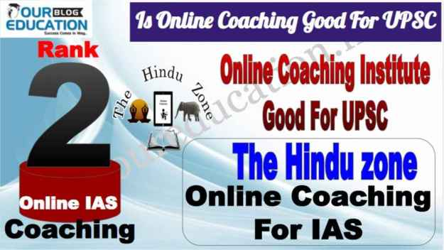 Rank 2 Is Online Coaching Good for UPSC