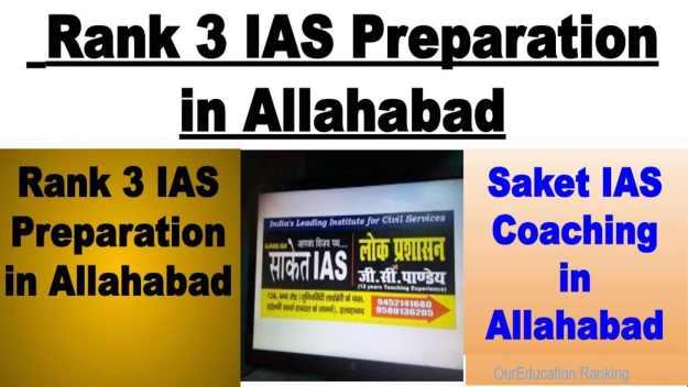 Rank 3 IAS Preparation in Allahabad
