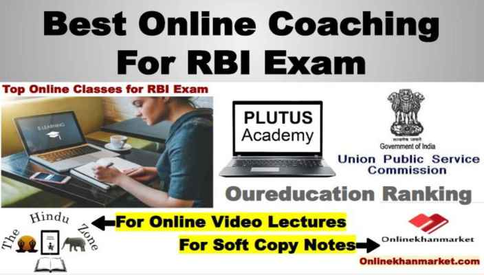 Best Online Coaching For RBI Exam