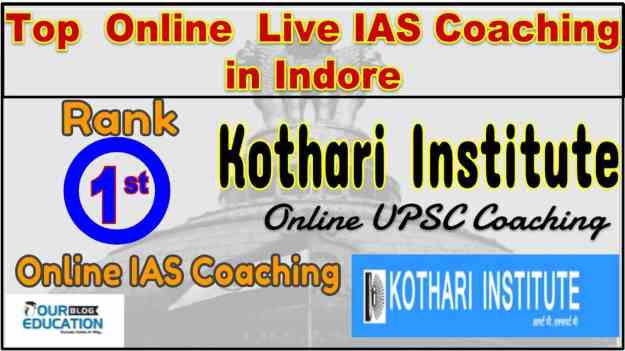 Top Online Live IAS Coachings in Indore