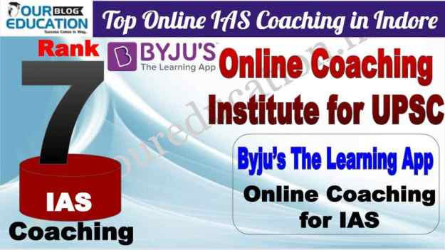 Online IAS Coaching in Indore