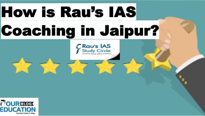 Rau's IAS Coaching in Jaipur Reviews