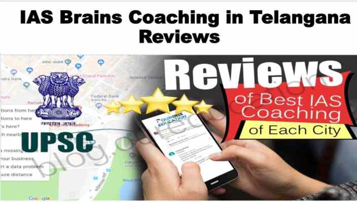 IAS Brains Coaching in Telangana Review