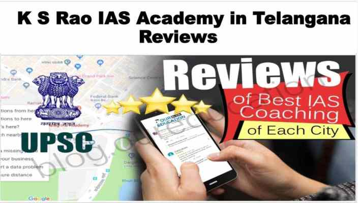 K S Rao IAS Academy in Telangana Review