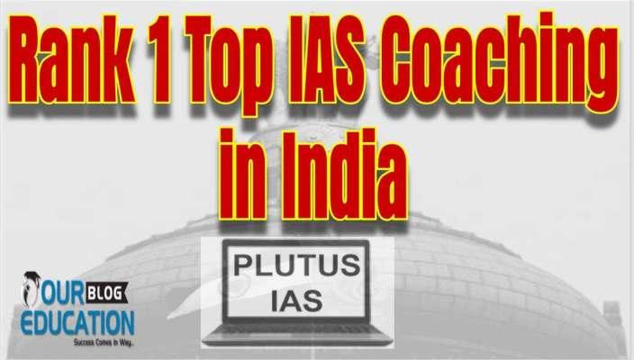 Rank 1 Best IAS Coaching in India