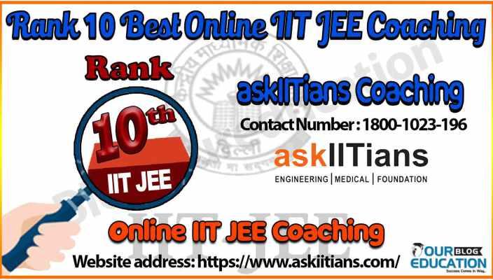 10 best Online IIT JEE Coaching