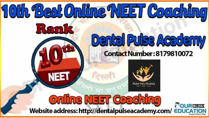 10 best Online NEET Coaching