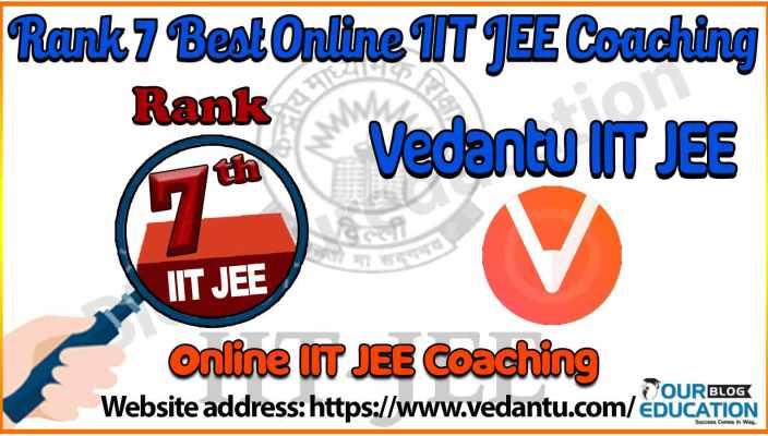 7 best Online IIT JEE Coaching