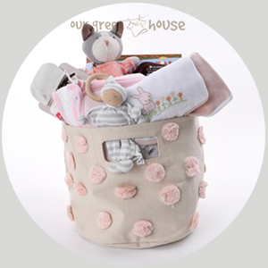 custom baby girl gift basket 4/5/18