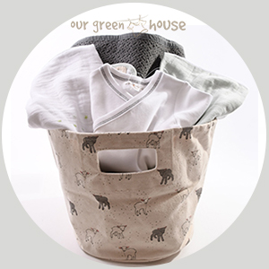 Custom Baby Gift Basket - Grey Welcome