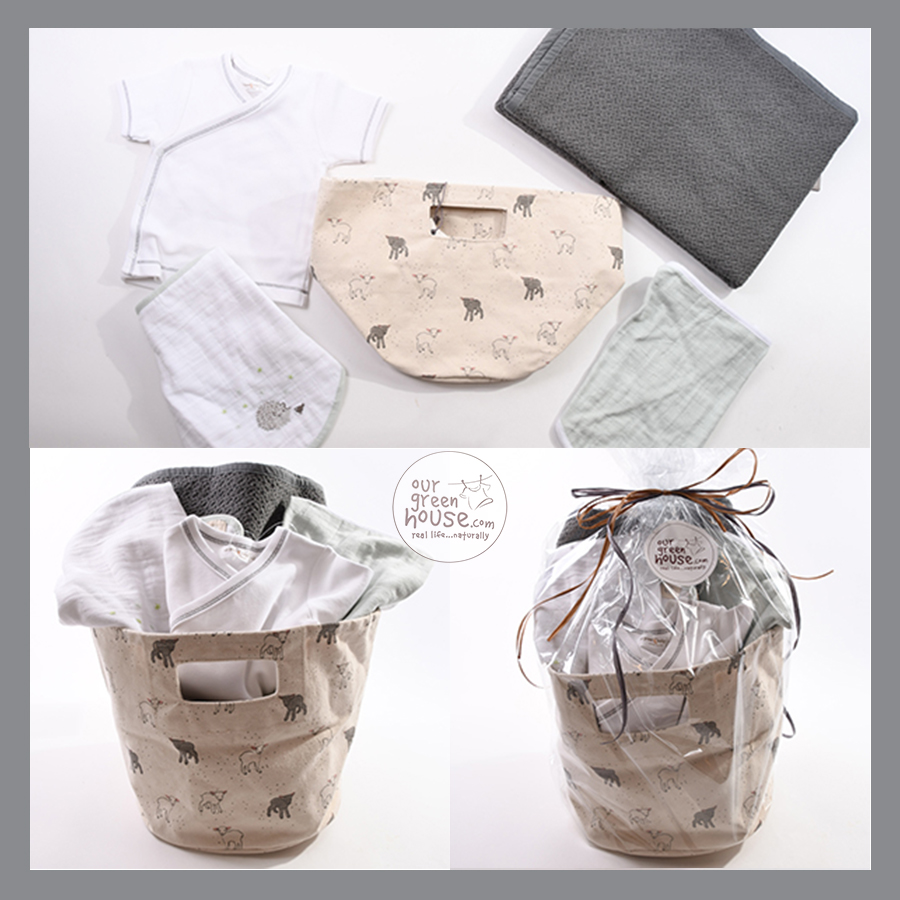 Organic Baby Boy Make Your Own Gift Basket