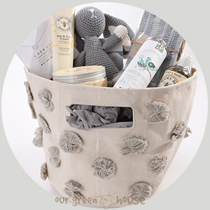 Mom To Be Gift Basket with Necklace