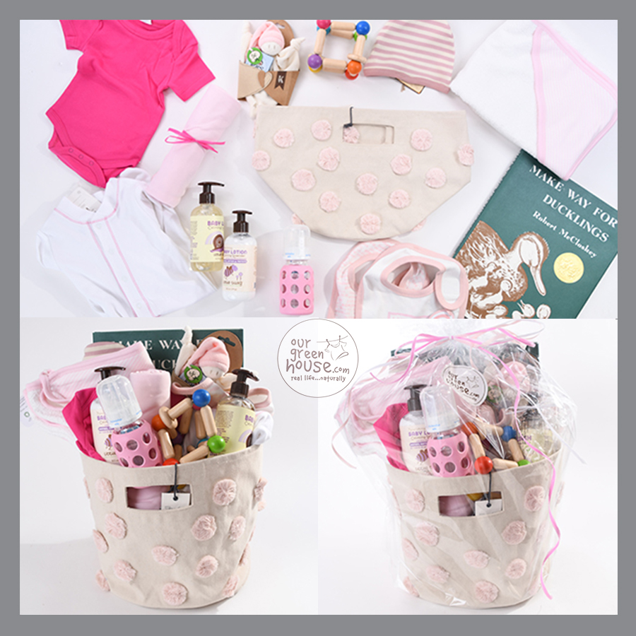 big beautiful baby gift basket