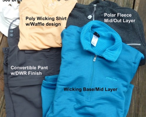 Clothing to Wear for Backpacking