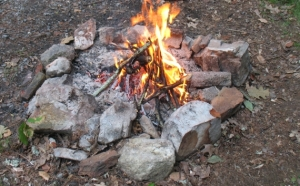 tender for camp fire