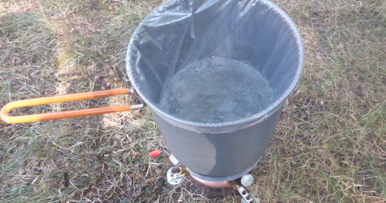 Avoiding Dishes in the Backwoods: Cooking Bag Pot Liners