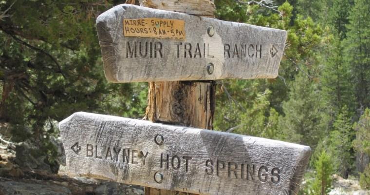 Muir Trail Ranch Resupply