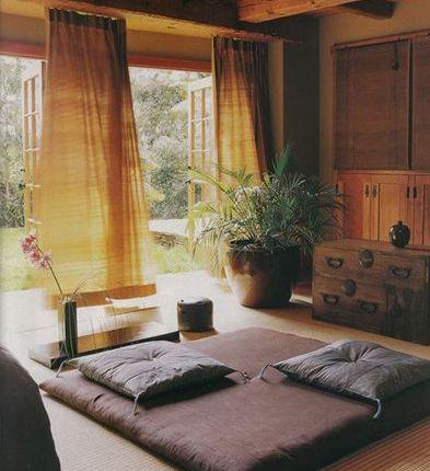 espacio zen en casa