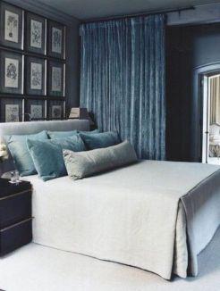 decoración dormitorio terciopelo