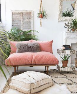 decoración color rosa