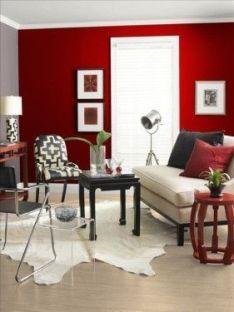 decoración color rojo