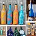 Ideas para decorar con botellas