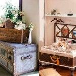 decorar con maletas tu hogar