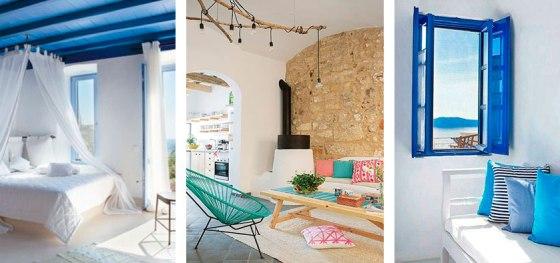 Colores decoración mediterránea