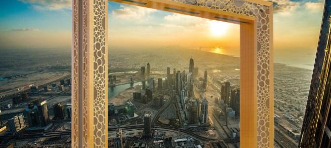 Apre il Dubai frame: la porta sull'Emirato