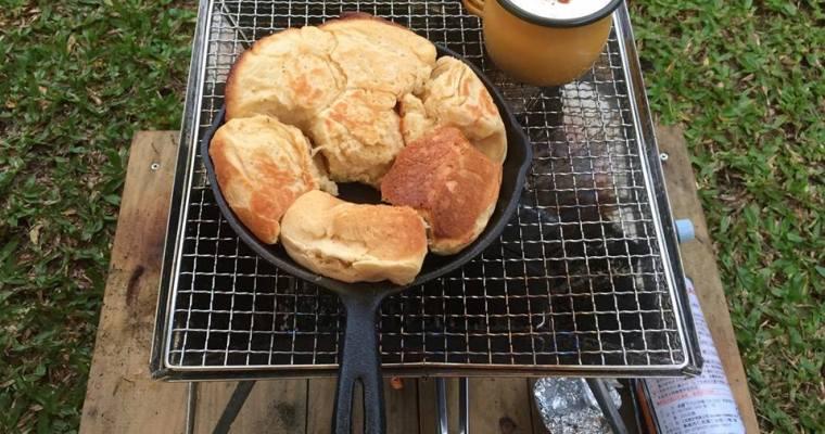 【野炊樂】露營好菜 碳烤麵包 肉桂奶茶