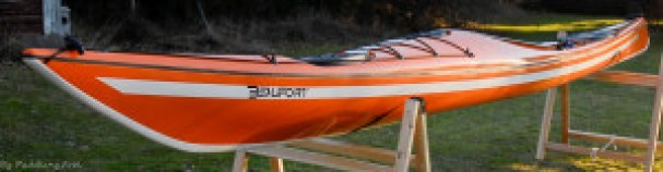 The Beaufort makes for a very nicely shaped overall balanced looking kayak