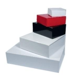 Geschenkboxen glänzend mit Magnetverschluss