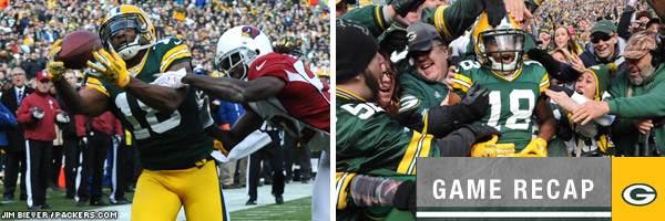 Win over Cardinals positions Packers for grind