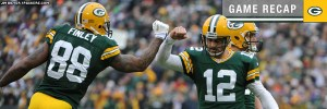 Packers tied for NFC North lead following 23-14 win