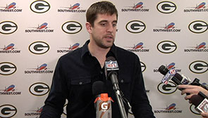 Aaron Rodgers: Playoff atmosphere today
