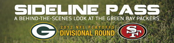 Sideline Pass: A behind-the-scenes look at the Packers-49ers NFC Divisional playoff game