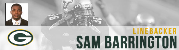 LB Sam Barrington