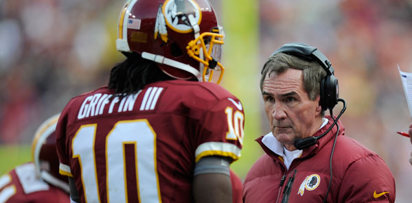 Washington Redskins Head Coach Mike Shanahan and QB Robert Griffin III were made available to the media via conference call Wednesday