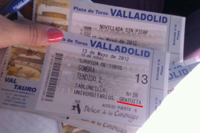 entradas gratis Valladolid